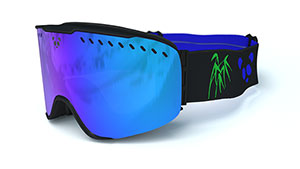 Win Panda RS1-Black Ski Goggles