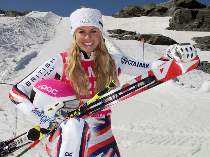 Chemmy Returns To Competitive Ski Racing At The Location