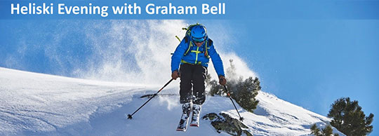 Win Tickets to a HeliSki evening with Graham Bell!