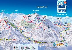Alpbach Piste Map