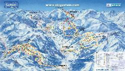 Gastein Piste Map