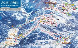 Gosau Piste Map