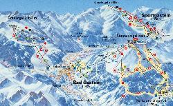 Graukogel Piste Map