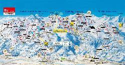 Hochzillertal-Hochfügen Piste Map