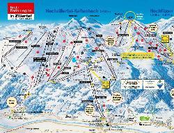 Kaltenbach Piste Map