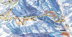 Leogang Piste Map
