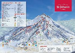 Oberndorf Piste Map