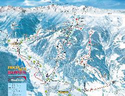 Rauris Piste Map