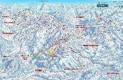 Scheffau am Wilden Kaiser Piste Map