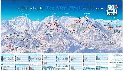 Ski Jewel Alpbachtal Wildschönau Piste Map