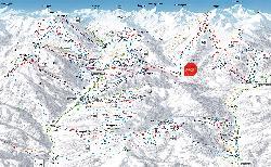 Skicircus Saalbach Hinterglemm Leogang Fieberbrunn Piste Map