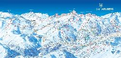 St. Anton am Arlberg Piste Map