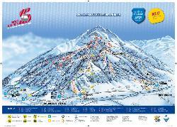 St Johann in Tirol Piste Map