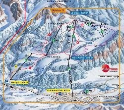 Château d'Oex Trail Map