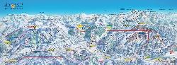 Gstaad Mountain Rides Piste Map