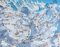 Lauterbrunnen Piste Map