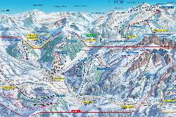 Rougemont Piste Map
