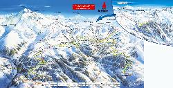 Plagne Centre Piste Map