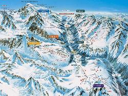 Argentière Piste Map