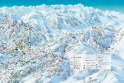 Cordon Piste Map