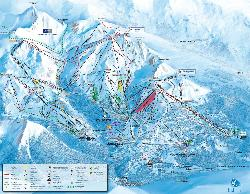 Courchevel 1850 Piste Map