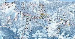 Megève Trail Map