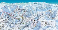 Megève Piste Map