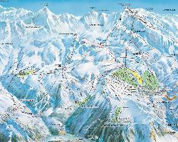 Oz-en-Oisans Piste Map