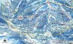 Samoëns Piste Map