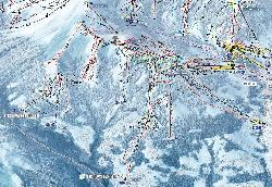 St Gervais Mont-Blanc Piste Map