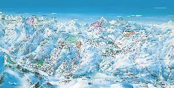 Tignes Val Claret Piste Map