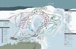 Cairngorm Mountain Piste Map