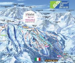 La Thuile Piste Map