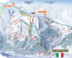 Map Of Italy In Italian.Piste Maps For Italian Ski Resorts J2ski