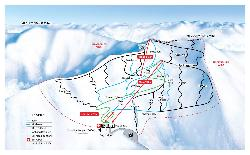 Mount Cheeseman Piste Map