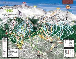 Breckenridge Piste Map