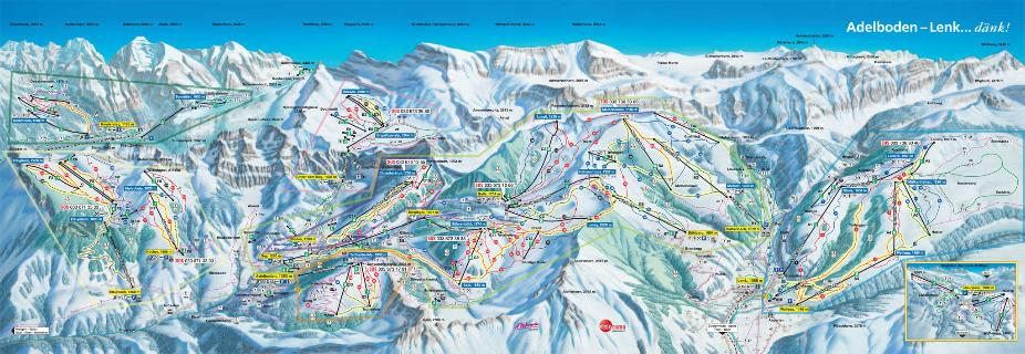 Adelboden-Lenk Trail Map