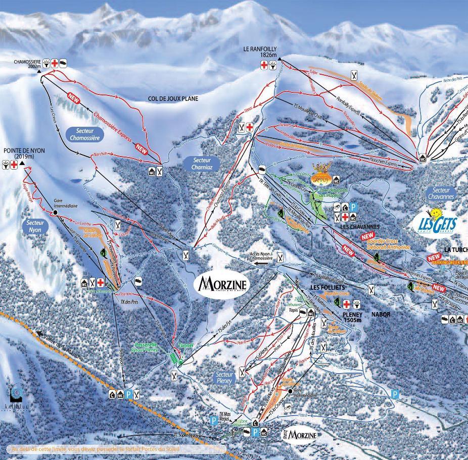 Morzine Piste Map