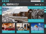 Home page screenshot of Alpine Action