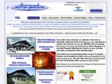 Home page screenshot of Austrian Adventures