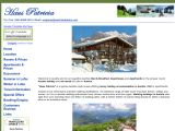 Home page screenshot of Haus Patricia - Austrian Breaks