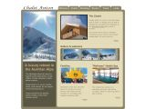 Home page screenshot of Luxury chalet in Dachstein West, Austria