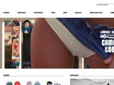 Home page screenshot of Bataleon Snowboards