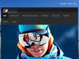 Home page screenshot of British Alpine Ski and Snowboard School