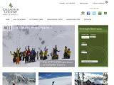 Home page screenshot of Callaghan Country - Backcountry Skiing Lodge