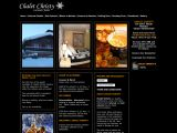 Home page screenshot of Chalet Christy