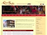 Home page screenshot of Chalet Sofie - Ischgl