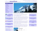 Home page screenshot of Chez Moulton - Bansko