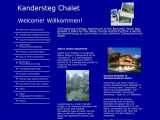 Home page screenshot of Kandersteg-Lärchenhus