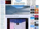 Home page screenshot of La Tania.co.uk